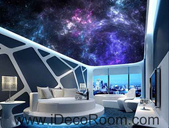 Dark Sky Smoke Wallpaper Wall Decals Wall Art Print Business Kids Wall Paper Nursery Mural Home Decor Removable Wall Stickers Ceiling Decal