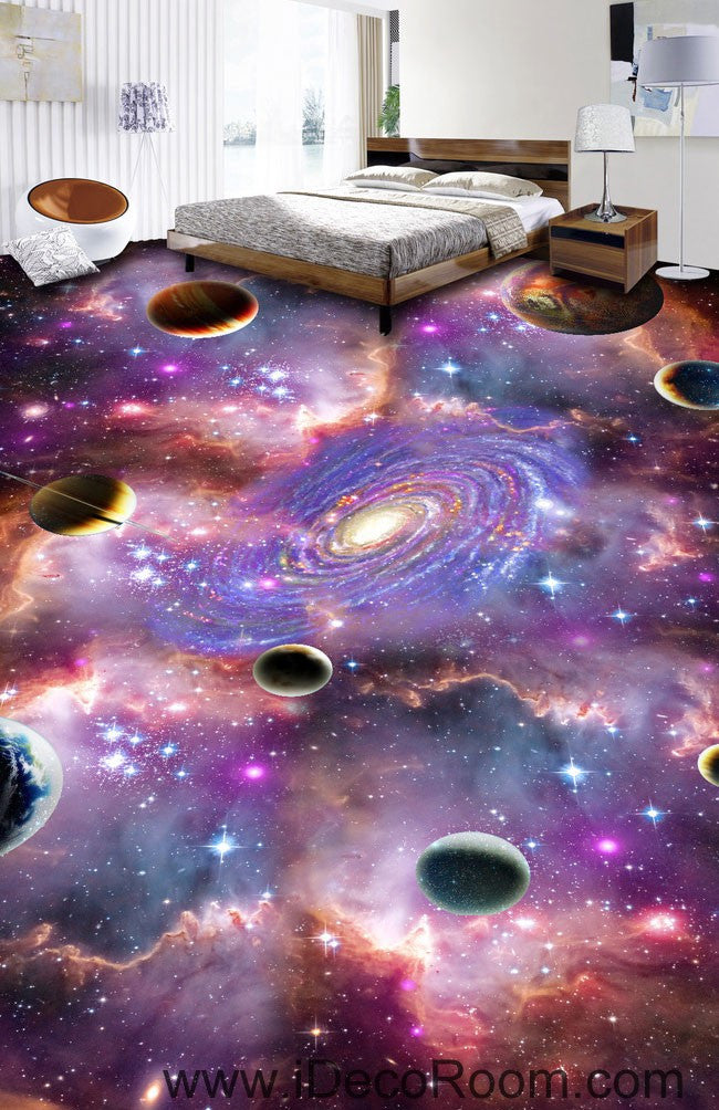 Universe Planet Nebula Galaxy 00075 Floor Decals 3d