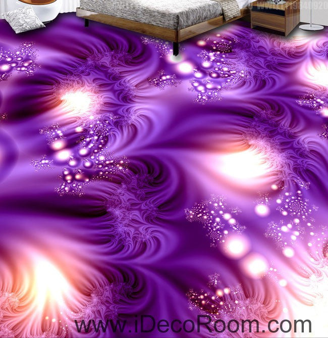 Kitchen Print Kitchen Wall Art Purple Kitchen Decor Gratitude: Purple Fantacy Dream 00080 Floor Decals 3D Wallpaper Wall
