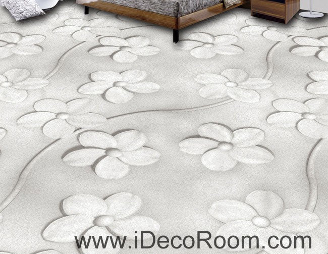 Large Sukura Flower 00082 Floor Decals 3D Wallpaper Wall Mural Stickers Print Art Bathroom Decor Living Room Kitchen Waterproof Business Home Office Gift