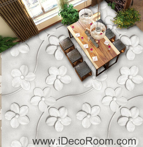 Image of Large Sukura Flower 00082 Floor Decals 3D Wallpaper Wall Mural Stickers Print Art Bathroom Decor Living Room Kitchen Waterproof Business Home Office Gift