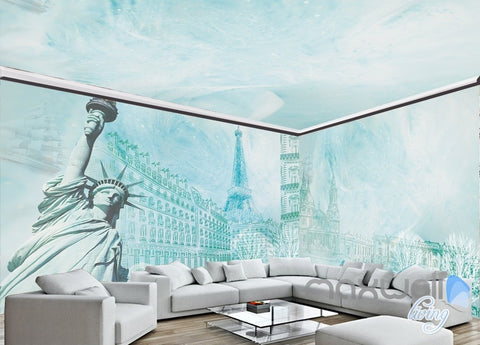 Image of Large European only goddess like entire room wallpaper wall mural decal IDCQW-000005