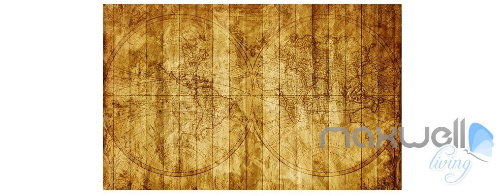 Pirates of the Caribbean retro entire room wallpaper wall mural decal IDCQW-000047