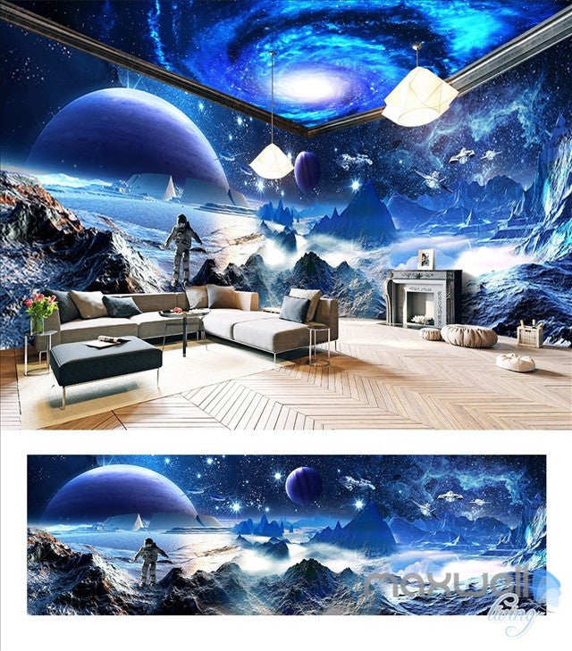 Star Wars Starry Space The entire room wallpaper wall mural decal