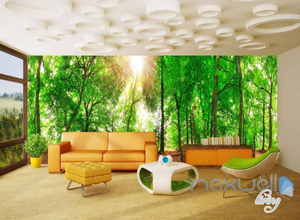 3D Africa Animals Forest Entire Room Wallpaper Wall Murals Prints IDCQ – IDecoRoom