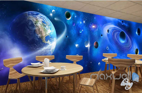 Image of 3D Universe Entertainment Entire Room Bedroom Wallpaper Wall Murals Art Prints  IDCQW-000143