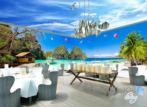 Beach Tropical Wall Murals