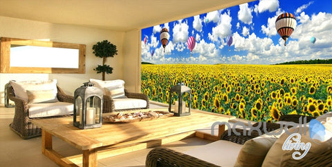 Forest Nature Flowers Wall Murals