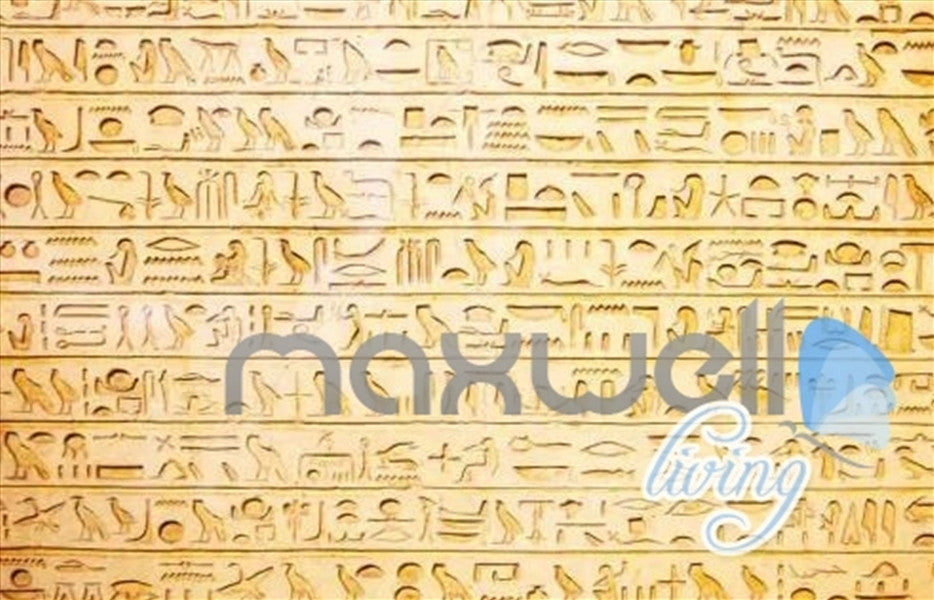 3D Egyptian Words Icons Entire Living Room Business Wallpaper Wall Mural Art Decor IDCQW-000253
