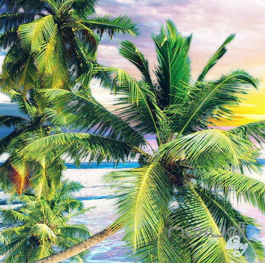 3D Tropical Island Resort Cabins Entire Living Room Wallpaper Wall Mural Art Prints IDCQW-000292