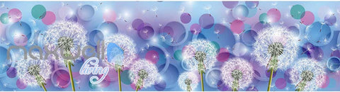 Image of 3D Dandelion Dream World Ceiling Wall Murals Wallpaper Decals Art Print IDCQW-000314