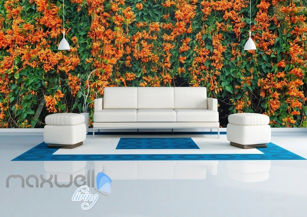 3D Flowers Vine Entire Room Wall Murals Wallpaper Paper Decals Art Print Decor IDCQW-000332