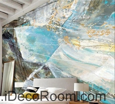 Image of Abstract Rock Illustration IDCWP-000053 Wallpaper Wall Decals Wall Art Print Mural Home Decor Gift