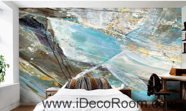 Abstract Rock Illustration IDCWP-000053 Wallpaper Wall Decals Wall Art Print Mural Home Decor Gift