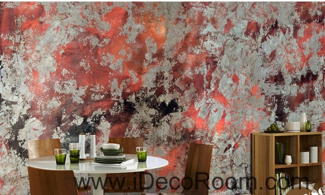 Retro to do the old abstract pattern stains stains painted wall art wall decor mural wallpaper wall  IDCWP-000168
