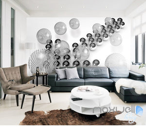 3D Ball Arrow 5D Wall Paper Mural Art Print Decals Business Modern Decor IDCWP-3DB-000010