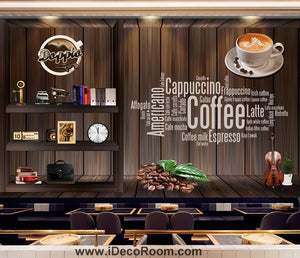 Coffee shop Wallpaper Coffee Club Cafe Wall Murals IDCWP-CF-000001