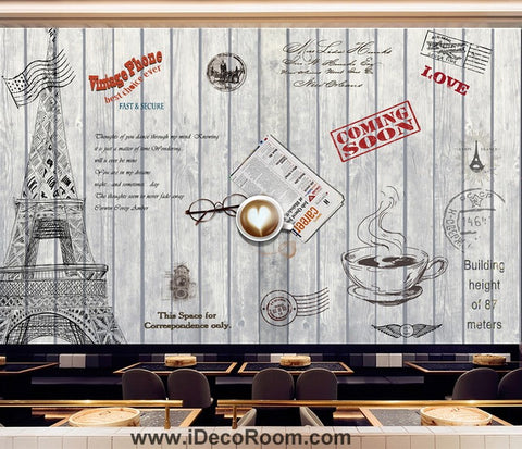 Coffee shop Wallpaper Coffee Club Cafe Wall Murals IDCWP-CF-000004