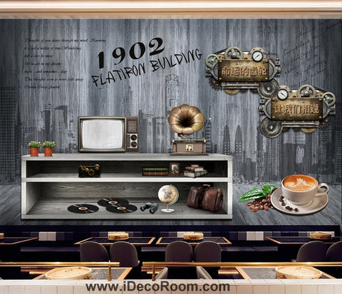 Coffee shop Wallpaper Coffee Club Cafe Wall Murals IDCWP-CF-000007