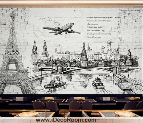 Image of Coffee shop Wallpaper Coffee Club Cafe Wall Murals IDCWP-CF-000010
