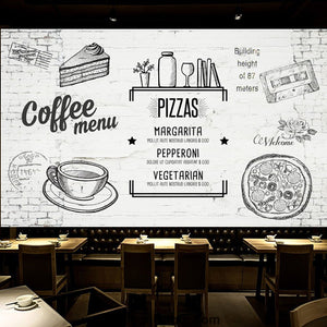Coffee shop Wallpaper Coffee Club Cafe Wall Murals IDCWP-CF-000023
