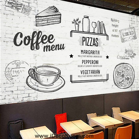 Image of Coffee shop Wallpaper Coffee Club Cafe Wall Murals IDCWP-CF-000023