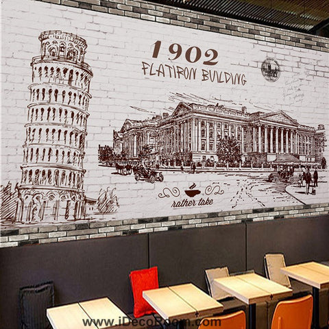 Image of Coffee shop Wallpaper Coffee Club Cafe Wall Murals IDCWP-CF-000026