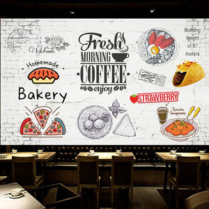 Coffee shop Wallpaper Coffee Club Cafe Wall Murals IDCWP-CF-000043