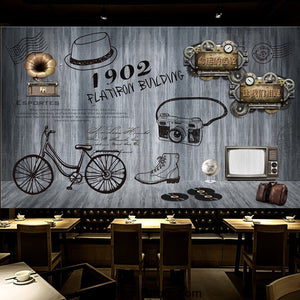 Coffee shop Wallpaper Coffee Club Cafe Wall Murals IDCWP-CF-000044