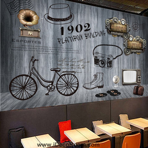 Image of Coffee shop Wallpaper Coffee Club Cafe Wall Murals IDCWP-CF-000044