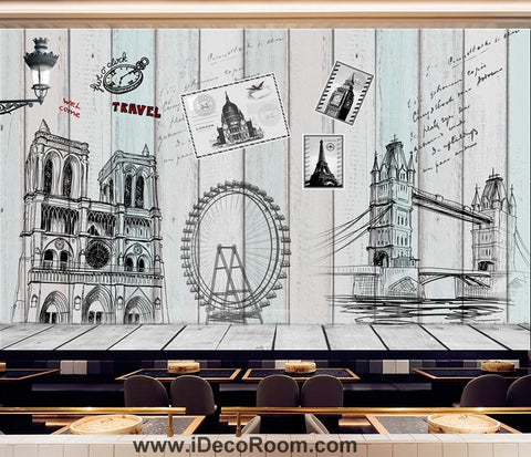 Coffee shop Wallpaper Coffee Club Cafe Wall Murals IDCWP-CF-000047