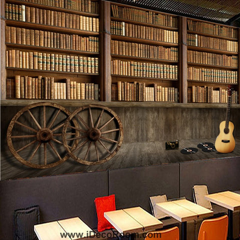 Image of Coffee shop Wallpaper Coffee Club Cafe Wall Murals IDCWP-CF-000048