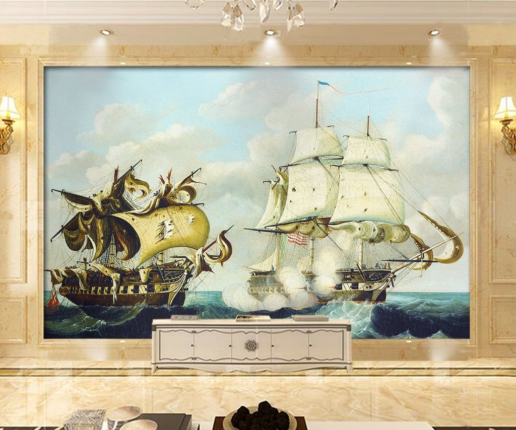 Nautical charts Wallpaper IDCWP-DZ-000204