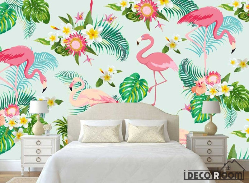 flowers wallpaper wall murals IDCWP-HL-000421