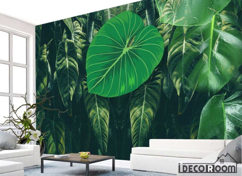Nordic Small Turtle Leaf wallpaper wall murals IDCWP-HL-000463