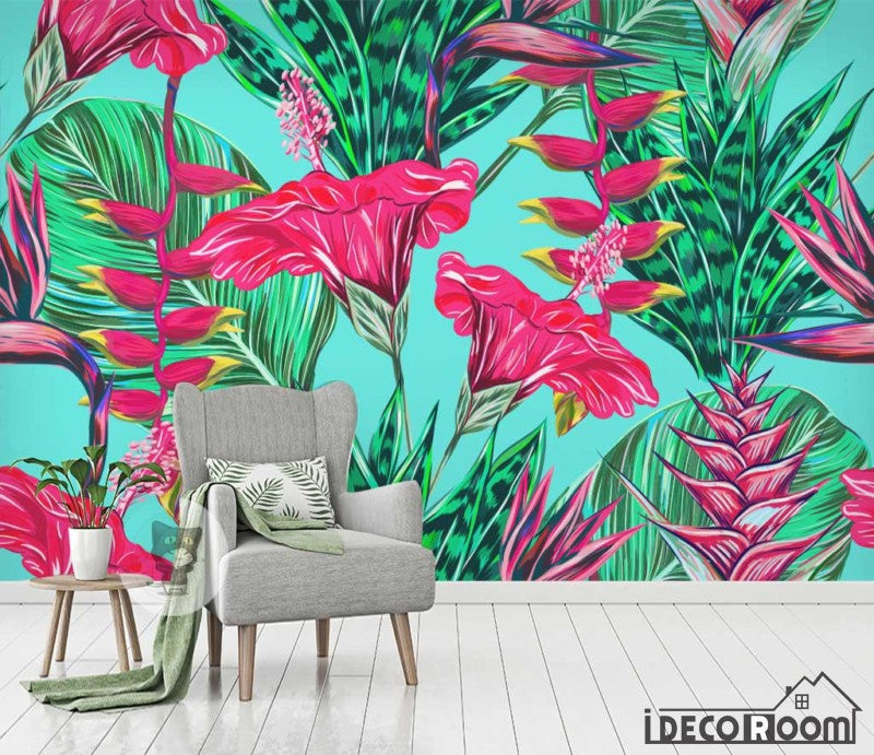 Jungle Forest Trees Plants Tropical Wall Mural Photo Wallpaper GIANT WALL DECOR
