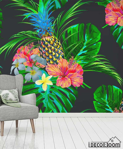Image of Flower bird plant vector wallpaper wall murals IDCWP-HL-000635