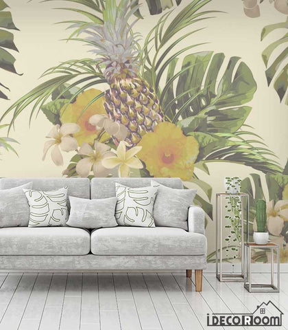 Image of Tropical plant rainforest wallpaper wall murals IDCWP-HL-000639
