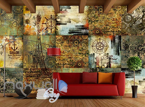 Image of Pattern Star World Pattern Desgin Art Wall Murals Wallpaper Decals Prints Decor IDCWP-JB-000048