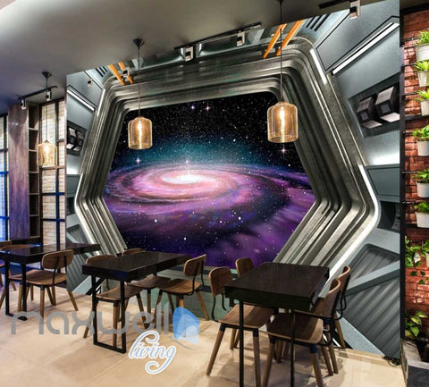 Space Galaxy Star Cloud View Mural Art Wall Murals Wallpaper Decals Prints Decor IDCWP-JB-000076