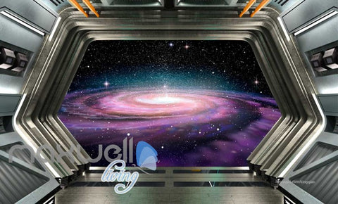Image of Space Galaxy Star Cloud View Mural Art Wall Murals Wallpaper Decals Prints Decor IDCWP-JB-000076