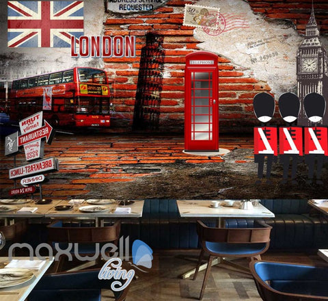 Image of London England Wall Art Collection Art Wall Murals Wallpaper Decals Prints Decor IDCWP-JB-000134