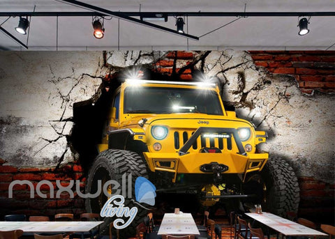 Image of Jeep World Breakthough Wall Art Wall Murals Wallpaper Decals Prints Decor IDCWP-JB-000135