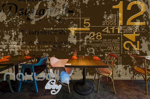 Image of Grunge Words And Letter Poster Art Wall Murals Wallpaper Decals Prints Decor IDCWP-JB-000201