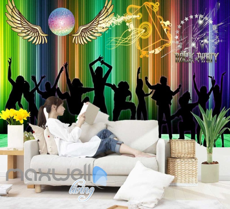 party wall murals