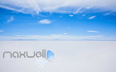 Image of Blue And White Salar De Uyuni Photograph  Art Wall Murals Wallpaper Decals Prints Decor IDCWP-JB-000258