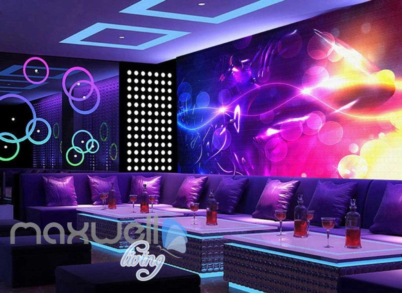 Colourful Graphic Design With Woman Art Wall Murals Wallpaper Decals Prints Decor IDCWP-JB-000399
