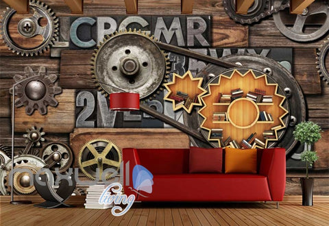 Image of Wall chain letter display design Art Wall Murals Wallpaper Decals Prints D¨¦cor IDCWP-JB-000421