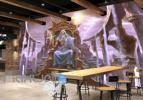 Image of 3d  with magician Art Wall Murals Wallpaper Decals Prints Decor IDCWP-JB-000451