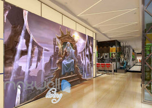 3d  with magician Art Wall Murals Wallpaper Decals Prints Decor IDCWP-JB-000451